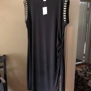 Michael Kors Black Studded Dress